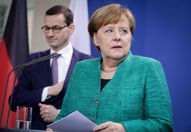 Podczas wizyty w Warszawie kanclerz Merkel spotka się m.in. z premierem Morawieckim