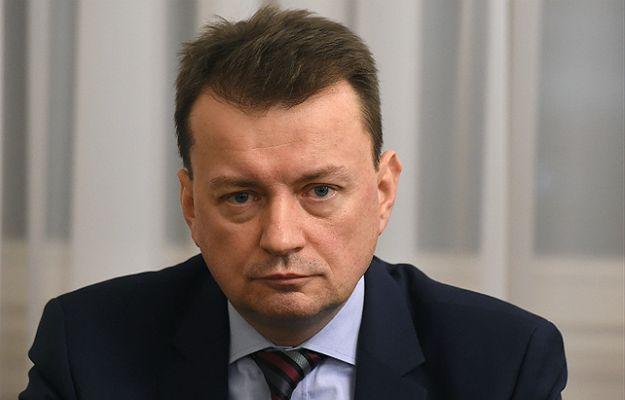 Szef MWSiA Mariusz Błaszczak