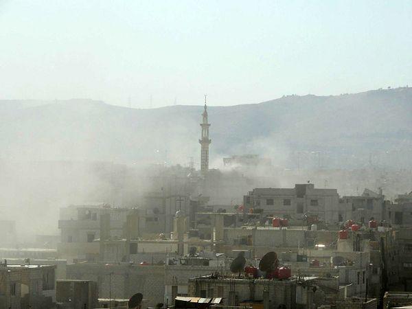Syria: co najmniej 20 zabitych w wybuchu samochodu pułapki koło Damaszku