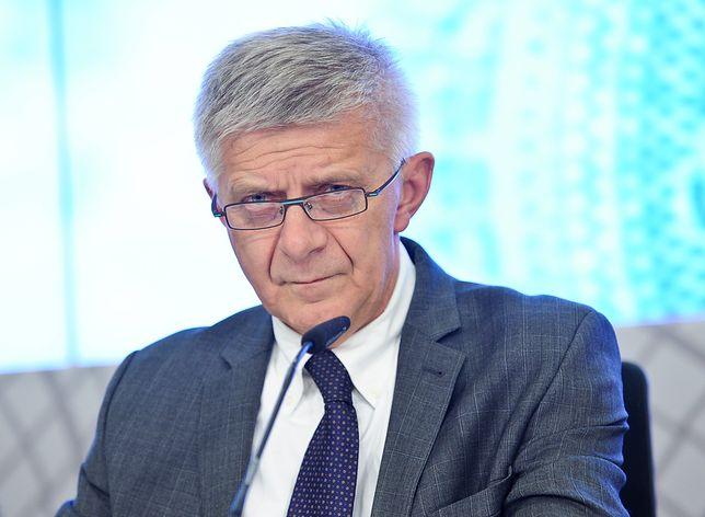 Marek Belka pełnił funkcję wicepremiera i ministra finansów