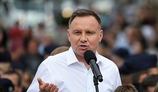 Wybory 2020. Prezydent Andrzej Duda
