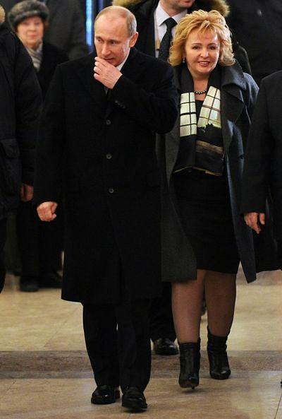 Władimir i Ludmiła Putin
