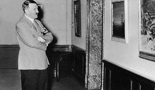 Obrazy Adolfa Hitlera trafią pod młotek
