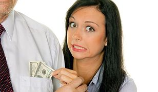 Mężczyźni nie mają pieniędzy z powodu kobiet?