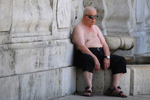 Hiszpania smaży się na słońcu
