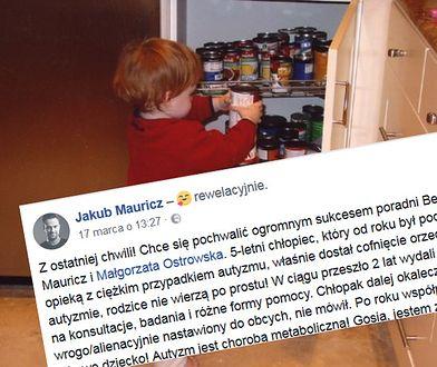 Dietetyk pochwalił się cudownym uzdrowieniem dziecka