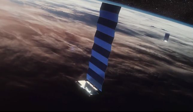 Satelity StarLink SpaceX
