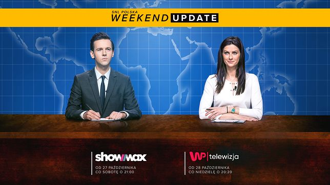SNL Polska - weekend update w każdą niedzielę o 20.20 w Telewizji WP!