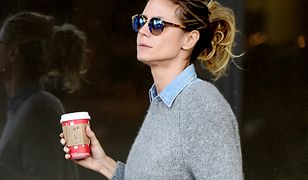 LOOK OF THE DAY: Heidi Klum w casualowym stylu