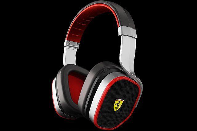 Słuchawki Logic3 - dźwięki inspirowane Ferrari