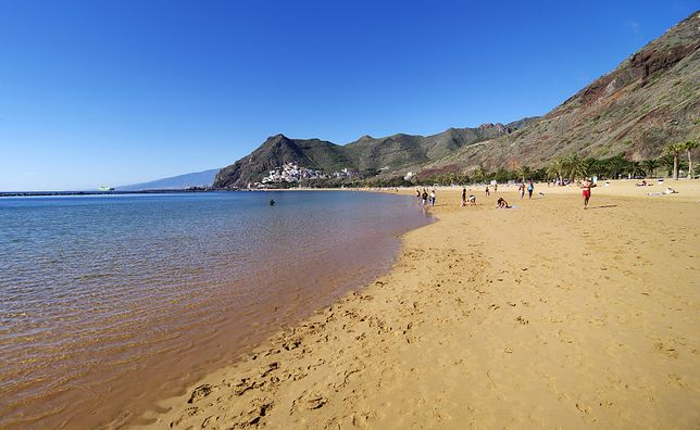Teneryfa, plaża