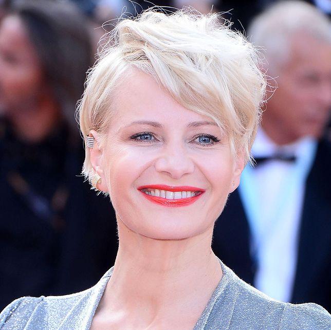 Małgorzata Kożuchowska na tegorocznym festiwalu w Cannes