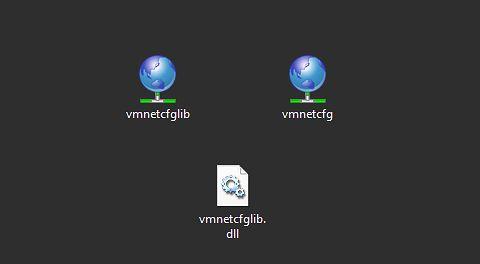 Pliki które należy skopiować do folderu VM Player