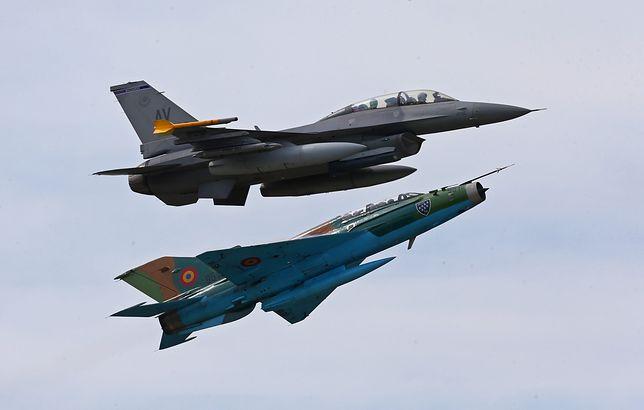 Rumuni wymieniają stare MiGi na F-16. Jak się okazuje, niedostatecznie sprawnie