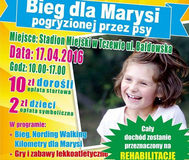 Festyn charytatywny dla pogryzionej przez psy Marysi z Tczewa