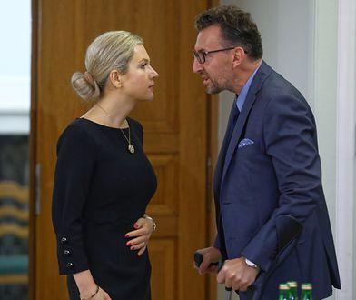 """""""To była miła, kurtuazyjna rozmowa"""" - mówi o zdjęciu prof. Marek Chmaj"""