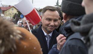 Andrzej Duda na spotkaniu z mieszkańcami Bolesławca