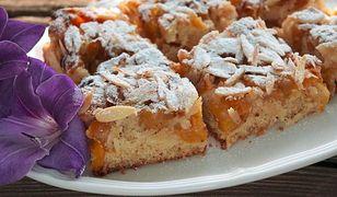 Ciasto z mirabelkami i migdałami. Smaki polski na podwieczorek