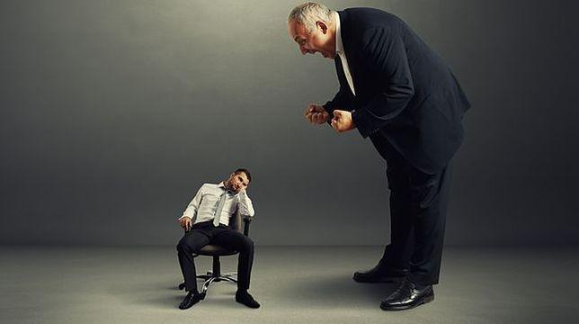 Chamstwo, bezmyślność, brak wychowania? Jak określić wyskoki szefów?