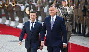 Ukraina. Prezydent Wołodymyr Zełenski przyleci do Polski