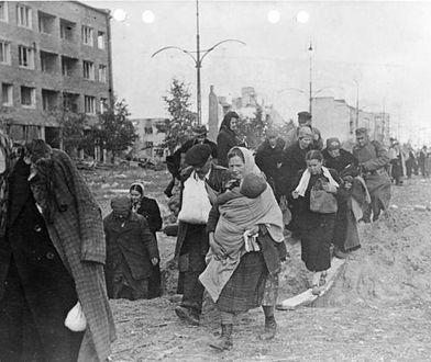 Tak poddawał się Mokotów. Exodus mieszkańców Fot. z arch. Bundesarchiv.