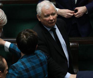 Drastyczny spadek poparcia dla PiS-u wiązany był z wystąpieniem Szydło w Sejmie