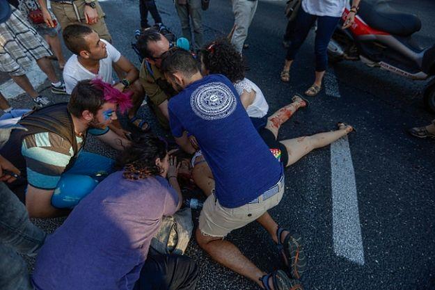 Nożownik zaatakował uczestników Gay Pride w Jerozolimie; są ranni
