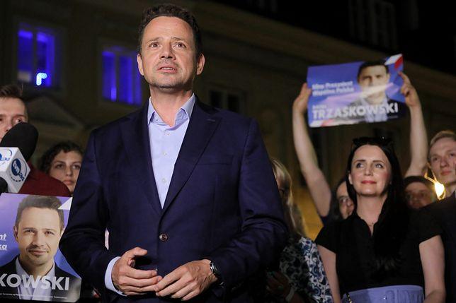Wybory prezydenckie 2020. Wyniki wyborów. Prezydent Warszawy, kandydat KO w wyborach prezydenckich Rafał Trzaskowski otrzymał w pierwszej turze wg sondażu exit poll 30,4 proc.