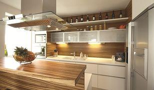 Aranżacja nowoczesnej kuchni otwartej na salon