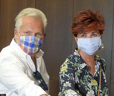 Koronawirus. Kwaśniewski zaniepokojony stanem żony po COVID-19