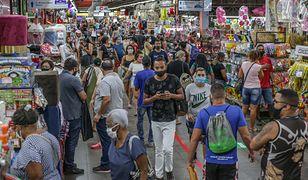 Koronawirus w Brazylii przybiera na sile. Padł rekord zgonów
