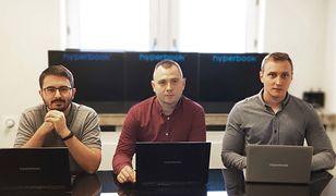Od lewej: Szymon Gieraga, Tomasz Jarka i Kamil Miłkowski