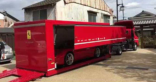 Tak Ferrari dostarcza samochody do klientów w Azji