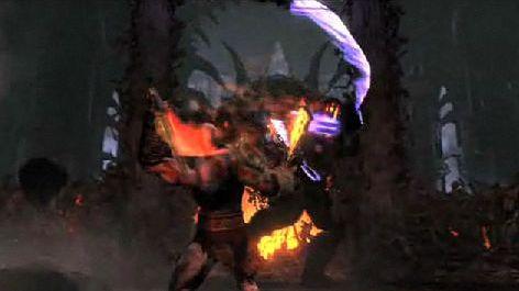 Kratos rozrabia w telewizji