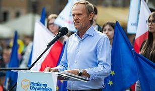 """Donald Tusk chce debaty z Jarosławem Kaczyńskim. """"A kim jest dzisiaj Donald Tusk?"""""""