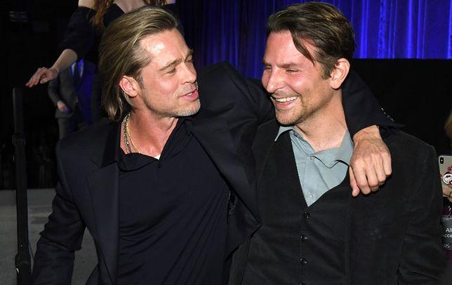 Brad Pitt podziękował Bradleyowi Cooperowi. Pomógł mu w walce z alkoholizmem