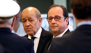 Francuski minister obrony skrytykował decyzję Polski ws. Caracali i wypowiedzi o Mistralach