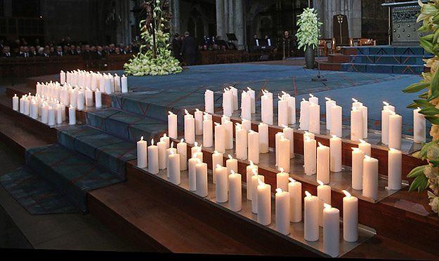 Uroczystości żałobne po katastrofie Germanwings