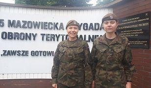Terytorialsi. Mama i córka służą w jednej jednostce. Kobiety w WOT