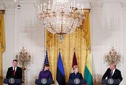 """Prezydenci państw bałtyckich """"straumatyzowani"""" spotkaniem z Trumpem. Pomylił Bałtyk z Bałkanami"""