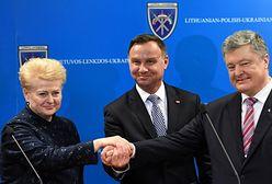 """Duda gościł Grybauskaite i Poroszenkę. """"Jesteśmy silni wtedy, kiedy jesteśmy razem"""""""