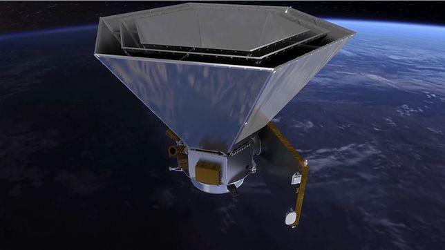 Wizualizacja teleskopu kosmicznego SPHEREx