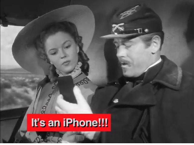 Z iPhone'a korzystano za czasów Chaplina. Albo jak lubimy widzieć to, co chcemy