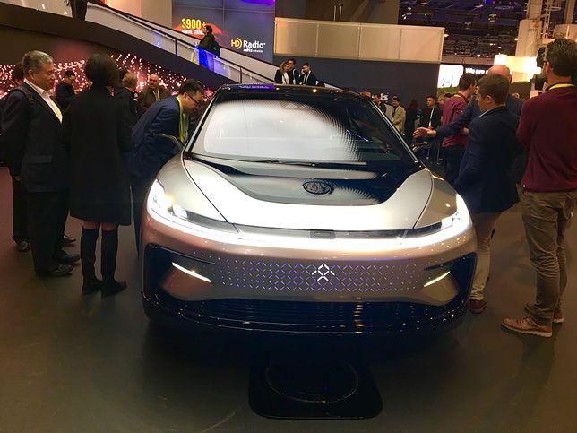 CES 2017: Widzieliśmy najbardziej futurystyczny samochód ostatnich lat