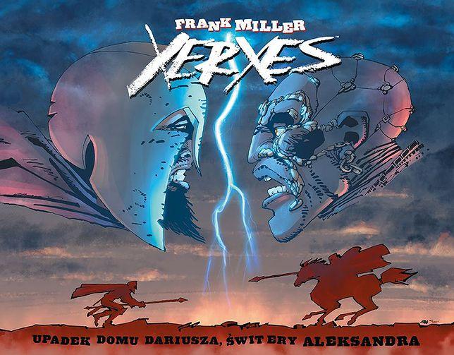 """""""Xerxes"""", rys. i scen. Frank Miller, Egmont 2019"""