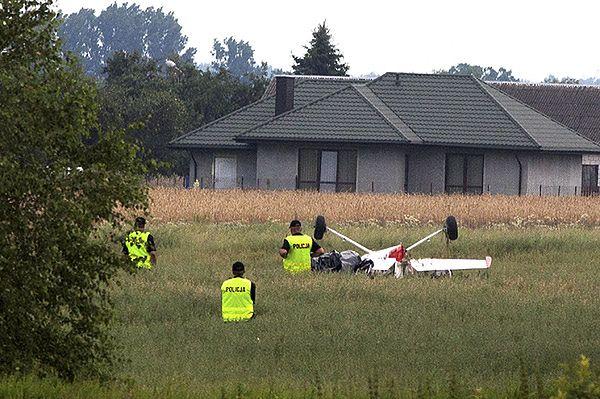 Świadek: usłyszeliśmy trzask, potem samoloty zaczęły spadać