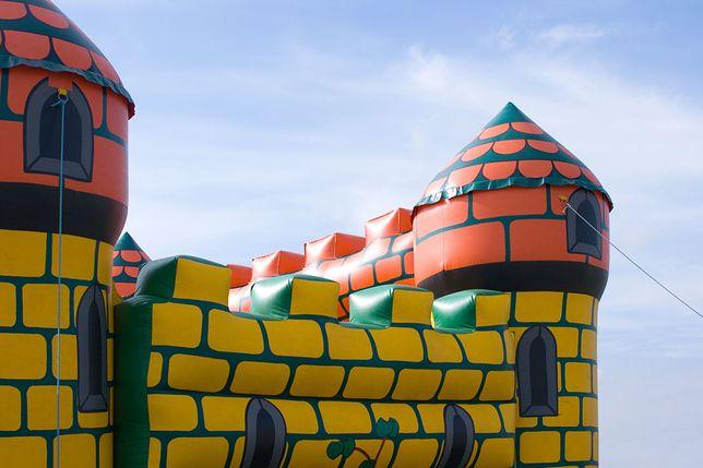 Dmuchany zamek, zdjęcie ilustracyjne