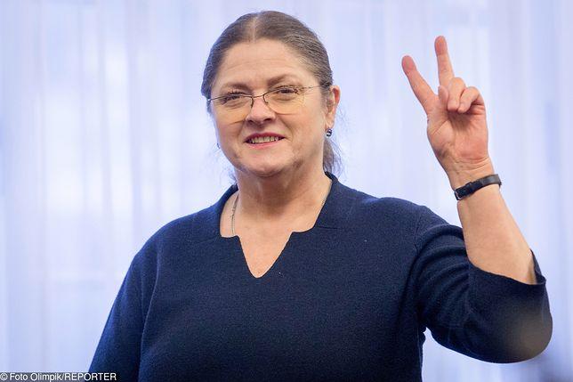 Krystyna Pawłowicz złożyła obietnicę prezesowi PiS
