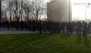 Śląsk. Nielegalne zgromadzenia kibiców. Interweniowała policja