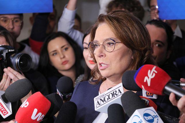 Wybory prezydenckie 2020. Małgorzata Kidawa-Błońska zaprezentowała swój sztab wyborczy